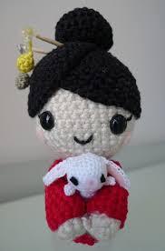 <b>Pattern</b>: Chinese <b>New Year</b> Doll | Patrones amigurumi, Muñecas del ...