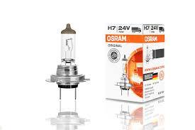 Автолампа галогенная <b>OSRAM H7</b> ORIGINAL (<b>12V</b>,55W ...