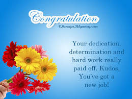 New Job Wishes Messages, Greetings and Wishes - Messages, Wordings ...