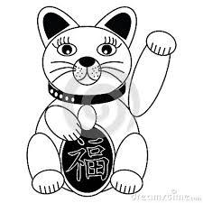 Resultado de imagen de good luck chinese cat