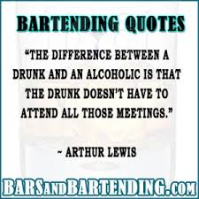 BARTENDING QUOTES ~ QUOTEZON via Relatably.com