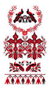 """Канва/ткань с рисунком """"<b>Каролинка</b>"""" <b>заготовка для вышивки</b> ..."""