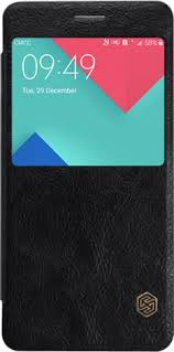 <b>Чехол</b>-<b>книжка Nillkin QIN</b> для Samsung Galaxy A7 2016 Black ...
