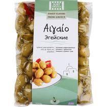 Оливки <b>Just Greece</b> Эгейские с ароматом лимона и диких трав ...