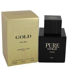 <b>Karen Low Pure Gold</b> Eau De Toilette Spray 100ml - Buy Online in ...
