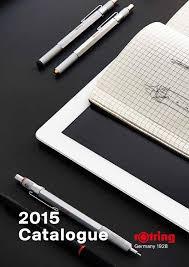 <b>rOtring</b> catalogue 2015 by <b>rOtring</b> - issuu