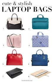 5 Cute & Stylish <b>Laptop Bags</b> You'll Actually Want to Carry