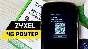 Обзор Портативного 4G <b>Роутера Zyxel</b> LTE2566-M634 ...