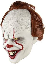 Clown Mask Halloween Horror Masks Cosplay ... - Amazon.com