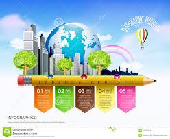 creative ecology concept template pencil flow chart infogra creative ecology concept template pencil flow chart infogra