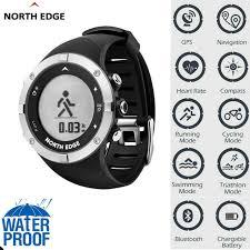 <b>North Edge</b> Digital GPS Sport <b>Smart Watch</b> Waterproof for Fitness ...