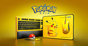 <b>Pokémon</b> Razer Peripherals - <b>Pikachu</b> Limited Edition Gear