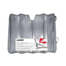 <b>Шторка</b> солнцезащитная лазерная (150х80 см.) плотная фольга ...