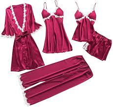 <b>Women</b> Large Size <b>Pajamas Nightdress Sexy Nightwear</b> Babydoll ...