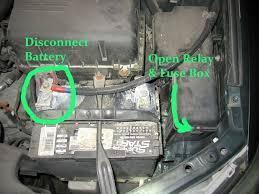 toyota camry a c button flashing blinking repair it for 13 99 disconnect your battery and open the relay fuse box to the right of your battery