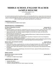 elementary education resume cover letters creating teacher resume how to write a good teacher resume teach abroad short resume cover