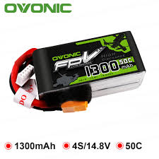 GENS ACE <b>OVONIC 1300mAh</b> 1550mAh 11.1V <b>14.8V</b> Lipo 3S <b>4S</b> ...