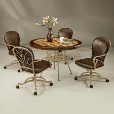 50+ <b>Dining Chairs</b> With <b>Casters</b> You'll Love in 2020 - Visual Hunt