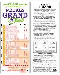 idaho lottery how to play weekly grand weekly grand playslip