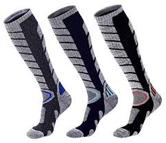<b>Mens</b>' Ski Socks Knee High Soft <b>Skin</b> Warm Socks <b>Hiking</b>