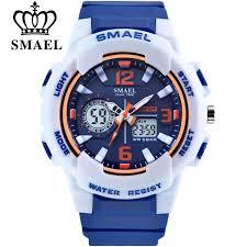 <b>SMAEL Brand Fashion Women</b> Sports Watches LED Digital Quartz ...