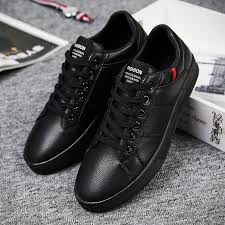 Brand <b>Leather Men Casual Shoes</b> Autumn Fashion Sneakers ...