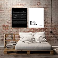 bedroom ideas couples: bob marley quote wedding canvas art canvas wall art wedding gifts for couple bedroom decor gifts
