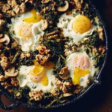 Recipes - Ground <b>Chicken</b>, Spinach & <b>Egg Skillet</b> » <b>Chicken</b>.ca