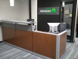 h r block client services professional and receptionist interview h amp r block photo of receptionists desk