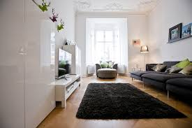 black shag rug family room contemporary with altbau anthrazitfarbenes sofa bay window black shag rug bunte black shag rug