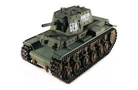 <b>Радиоуправляемый танк Taigen Russia</b> КВ-1 HC масштаб 1:16 2.4G