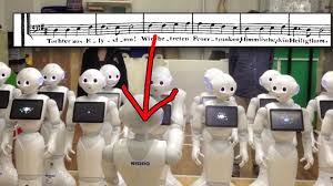 The end is nigh: terrifying <b>robot choir</b> sings Beethoven's Ode To Joy ...
