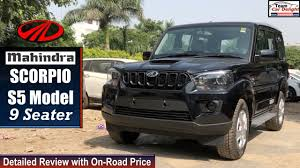 Scorpio <b>S5</b> Model 2019 Detailed Review with On Road Price ...