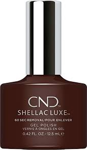 <b>CND Shellac</b> Luxe - <b>Fedora</b> - 12.5 ml / 0.42 oz: Amazon.ca: Beauty