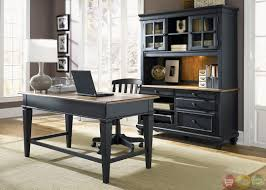 black office desk office home office furniture executive desk alaska black oak office desk