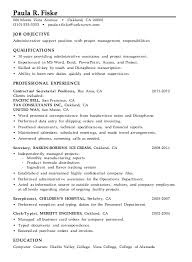 resume sample  administrative support   project managementmore resume help