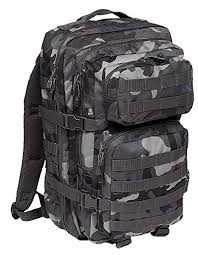 Brandit US Cooper Large Backpack Flecktarn Camouflage: Amazon ...