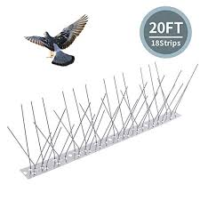 Topsome Bird Spikes for Pigeon <b>Small</b> Birds, <b>Bird Repellent</b> ...