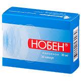 Список препаратов от <b>Нобен</b> в аптеках Озерки