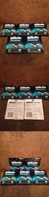 <b>Mens Razor Blades</b>: 5 Of New Gillette Sensor 10 Cartridges, Self ...