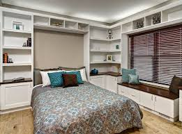 murphy bed bedroom contemporary interesting ideas with blue throw pillow brown throw pillow awesome murphy bed office