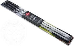 Купить <b>Набор шампуров</b> Forester с <b>деревянными</b> ручками 6шт ...
