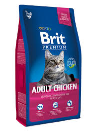 <b>Brit Premium Adult</b> Chicken 8 kg Dry <b>cat</b> food
