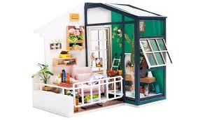 <b>Набор</b> для творчества миниатюра интерьерная 3D Балкон ...
