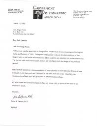 referral letters