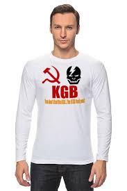 Лонгслив KGB Russia #710941 от Leichenwagen по цене 1 028 ...