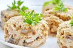 Салат из кальмаров и шампиньонов с фото