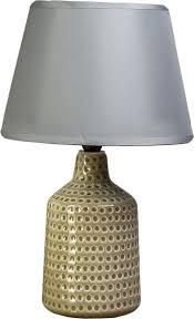 настольный светильник risalux аромат цветов e27 1360532 23 х 42 см