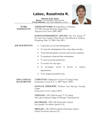 examples of resumes experience professional resume sample no job 81 amusing job resume example examples of resumes