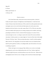 essay on obesity obesity research paper